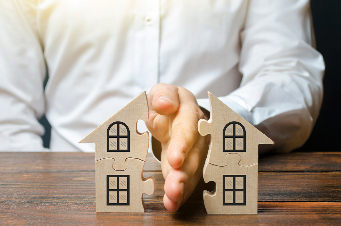 Por que avaliações imobiliárias são importantes em casos de divisão de bens?